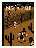 Promised Land - The New Yorker Cover, November 28, 2011 Regular Giclee Print by Christoph Niemann