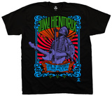 Jimi Hendrix- Live In Concert T-Shirts