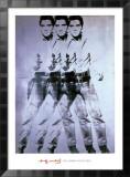 Elvis, 1963 (triple Elvis) Poster par Andy Warhol