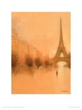 Stranger in Paris Giclee Print by Jon Barker