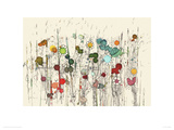 Flowers 31 Giclee Print by Moose Allain