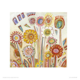 Sunny Flowers Giclee Print by Shyama Ruffell
