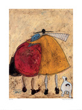 Hugs On The Way Home Reproduction procédé giclée par Sam Toft
