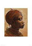 Masai Woman I Giclee Print by Jonathan Sanders