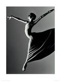 Ballet Dancer Giclée-Druck von Kent Barker