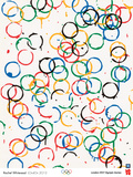 London 2012 Olympics-Rachel Whiteread-LOndOn 2012 Poster tekijn Whiteread Rachel
