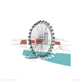 A London Eyeful II Giclee Print by Susie Brooks