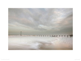 And Beyond the Shore Giclee Print by Ian Winstanley
