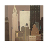 Chrysler Building Giclee Print by Xavier Carbonell