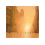 Morning Light - 5th Avenue Giclee Print by Jon Barker