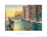 Rio di San Trovaso Giclee Print by Cecil Rice