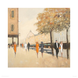 Early Birds - Harrods Giclee Print by Jon Barker