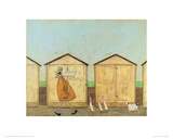 Doris Brings Up The Rear Giclee Print by Sam Toft