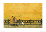 A Romantic Interlude Giclee Print by Sam Toft