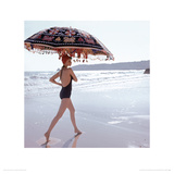 Algarve, Vogue July 1973 Lmina gicle por Norman Parkinson
