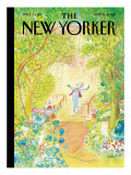The New Yorker Cover - May 19, 2008 Premium Giclee Print by Jean-Jacques Semp&#233;