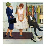 """First Prom Dress"", April 18, 1959 Giclee Print by Kurt Ard"
