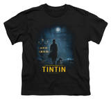 Youth: The Adventures of TinTin - Tintin Poster T-Shirt