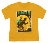 Youth: The Adventures of TinTin - Tintin &amp; Snowy Flyer T-Shirt