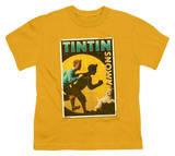Youth: The Adventures of TinTin - Tintin & Snowy Flyer T-Shirt