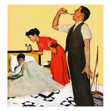 """Take Your Medicine"", September 23, 1950 Giclee Print by George Hughes"