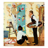 """Den Into Nursery"", November 22, 1958 Giclee Print by George Hughes"