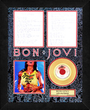 Bon Jovi - &quot;Livin&#39; On A Prayer&quot; Framed Memorabilia
