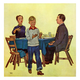 """Wash Your Hands"", February 18, 1950 Giclee Print by Jack Welch"