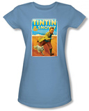 Juniors: The Adventures of TinTin - Tintin & Snowy T-Shirt