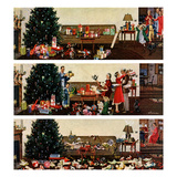 &quot;Christmas Morning&quot;, December 27, 1958 Reproduction proc&#233;d&#233; gicl&#233;e par Ben Kimberly Prins