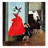 """Mannequin"", March 1, 1952 Reproduction procédé giclée par George Hughes"