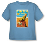 Toddler: The Adventures of TinTin - Tintin & Snowy T-Shirt