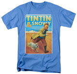 The Adventures of TinTin - Tintin & Snowy T-shirts