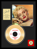 "Marilyn Monroe - ""Diamonds Are A Girls Best Friend"" Gold Record Framed Memorabilia"