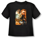 Toddler: The Adventures of TinTin - Adventure Poster T-shirts