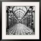 Passage des Princes, Paris Prints by Dave Butcher