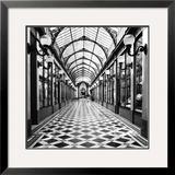Passage des Princes, Paris Prints by Dave Butcher