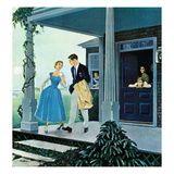 """Date for the Dance"", August 5, 1950 Giclee Print by George Hughes"