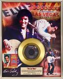 """Elvis Presley - """"Viva Las Vegas"""" 40th Anniv. Gold Record Framed Memorabilia"""