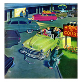 """No Vacancy"", August 29, 1953 Giclee Print by Thornton Utz"