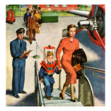 """""""Space Traveller"""", November 8, 1952 Giclee Print by Amos Sewell"""