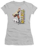 Juniors: The Adventures of TinTin - Come On, Snowy! T-Shirt
