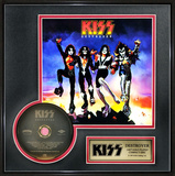 KISS - Destroyer Gold CD Framed Memorabilia