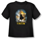 Toddler: The Adventures of TinTin - Poster T-Shirt
