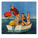 """Row, We're Out of Gas"", June 27, 1959 Giclee Print by Amos Sewell"