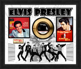 Elvis Presley - Jailhouse Rock Gold 45 Framed Memorabilia