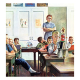"""Future Engineer"", April 4, 1959 Giclee Print by John Falter"