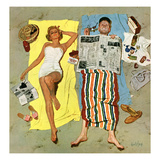 """Sunscreen"", August 16, 1958 Reproduction procédé giclée par Kurt Ard"