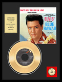 "Elvis Presley - ""Can't Help Falling in Love"" Gold Record Framed Memorabilia"