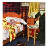 """Sleeping In"", June 19, 1954 Giclee Print by Richard Sargent"